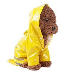 BEAUTYVAN Pet Dog Raincoat, Pet Dog Hooded Raincoat Pet Wate