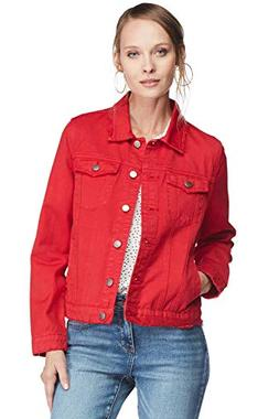 VELVET HEART 'Phyllis' Women's Classic Denim Jacket. Cropped