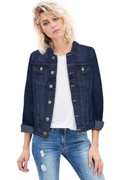 Revolt Hybrid Women Junior Classic 4 Pockets Denim Jacket