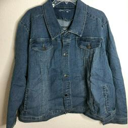 Riders by Lee Indigo Women's Plus Size Denim Jacket, Light W