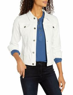Riders by Lee Indigo Women's Stretch Denim Jacket - White -