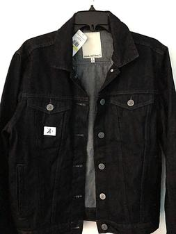 Calvin Klein Jeans Men's Rinse-Wash Denim Trucker Jacket