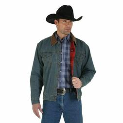 WRANGLER RUSTIC DENIM BLANKET LINED - MENS JACKET   - 74265R