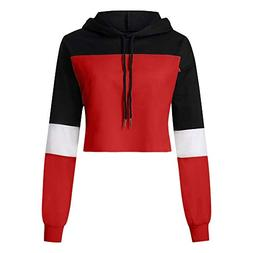 BEAUTYVAN Sales 2018-Women Short Sweatshirt Autumn Crop Hood