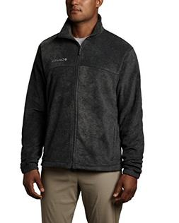 Columbia Men's Steens Mountain Full Zip 2.0, Flame/Charcoal