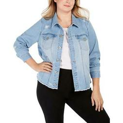style and co womens distressed spring denim