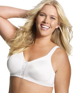 Just My Size Super Sleek Front Close Wirefree Bra, Style 121