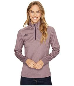 The North Face Tech Glacier 1/4 Zip Black Plum Heather Women