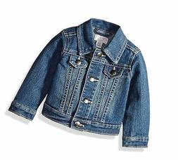 The Children's Place Girls' Denim Jacket, China Blue 6065, 1