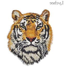 tiger wolf iron patches