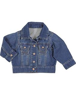 Wrangler Toddler-Boys' Indigo Classic Denim Jacket Indigo 3T