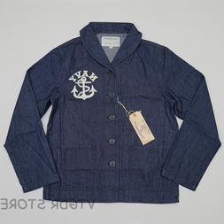 us navy deck jacket vintage men s