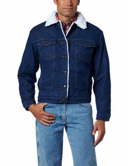 Wrangler Western Pre-Washed Indigo Denim Jacket, Lined Or Un