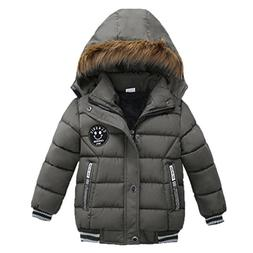 BEAUTYVAN Winter Jacket Cute Lovely Kids Coat Boys Girls Thi