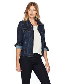 Riders by Lee Indigo Women's Stretch Denim Jacket, Drenched,