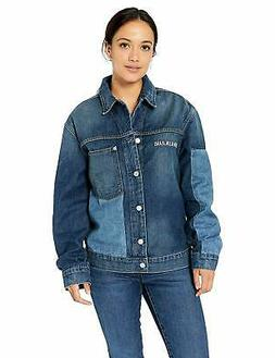 Calvin Klein womens Denim Trucker Jacket - Choose SZ/Color