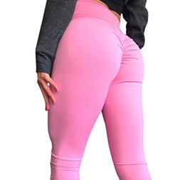 FINME Women's Fashion Workout Leggings Fitness Sports Gym Ru