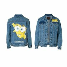 Members Only x Nickelodeon SpongeBob Jean Trucker Jacket Men