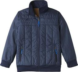 The North Face Kids Boy's Reversible Yukon Jacket  Cosmic Bl